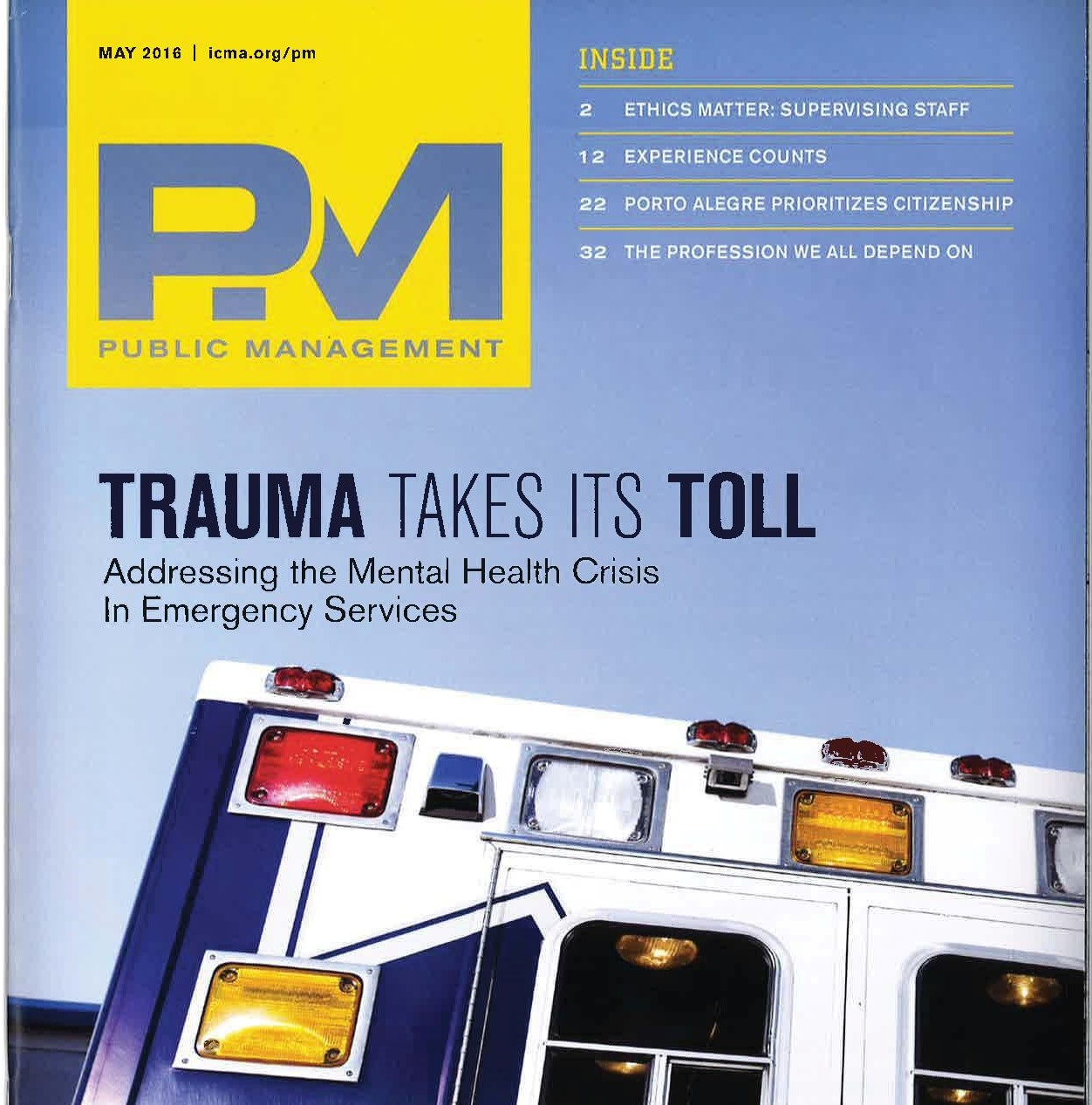 Trauma Takes Its Toll: Addressing the mental health crisis in
